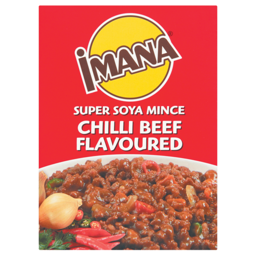 Imana Chilli Beef Flavoured Super Soya Mince 200g