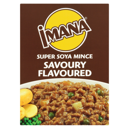 Imana Savoury Flavoured Super Soya Mince 200g