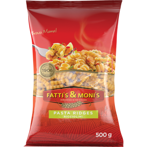 Fatti's & Moni's Ricciolini Pasta Ridges 500g