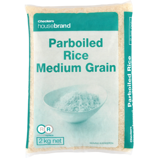 Checkers Housebrand Parboiled White Rice 2kg