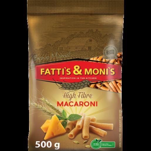 Fatti's & Moni's High Fibre Macaroni Pasta 500g