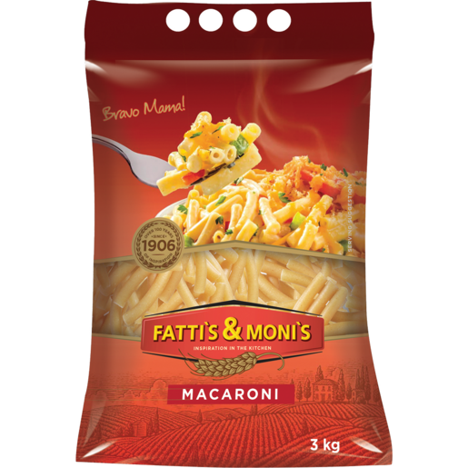 Fatti's & Moni's Macaroni Pasta 3kg