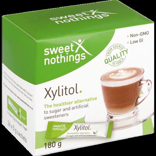 Sweet Nothings Xylitol Sachets 36 x 5g