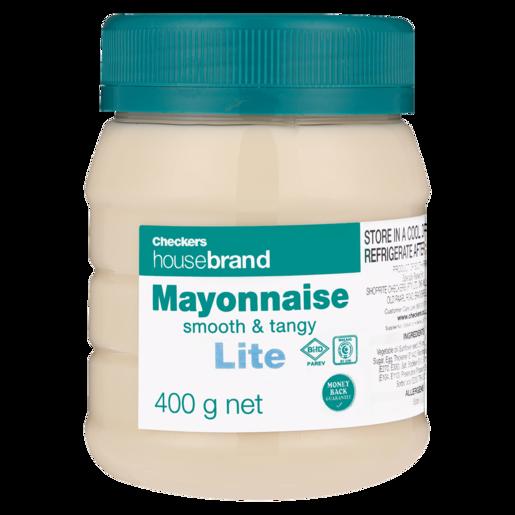 Checkers Housebrand Lite Mayonnaise 400g