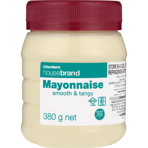 Checkers Housebrand Mayonnaise 380g