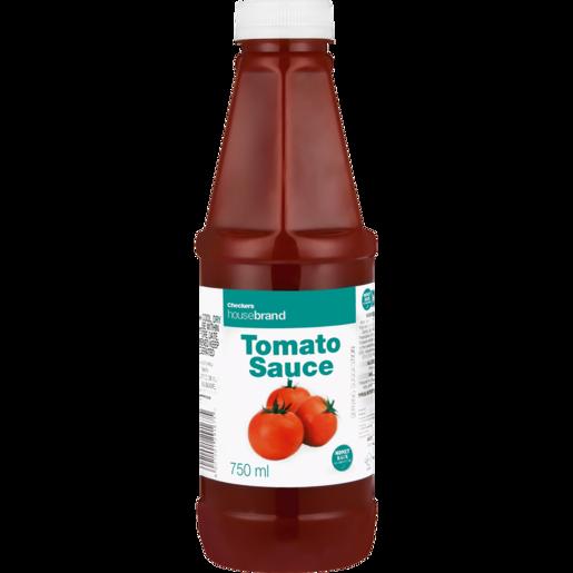 Checkers Housebrand Tomato Sauce 750ml