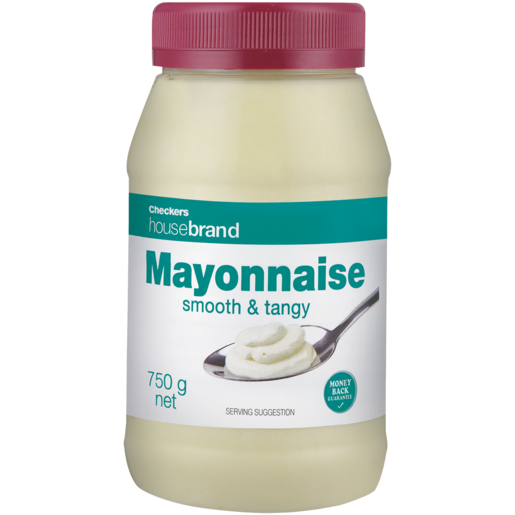 Checkers Housebrand Smooth & Tangy Mayonnaise 750g