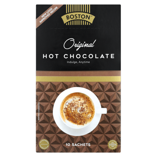 Boston Original Hot Chocolate Sachets 10 x 25g