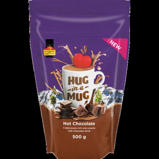 Hug In A Mug Hot Chocolate Pouch 500g