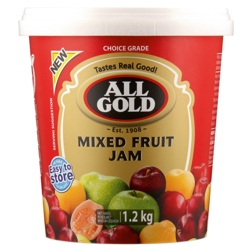 All Gold Mixed Fruit Jam Tub 1.2kg