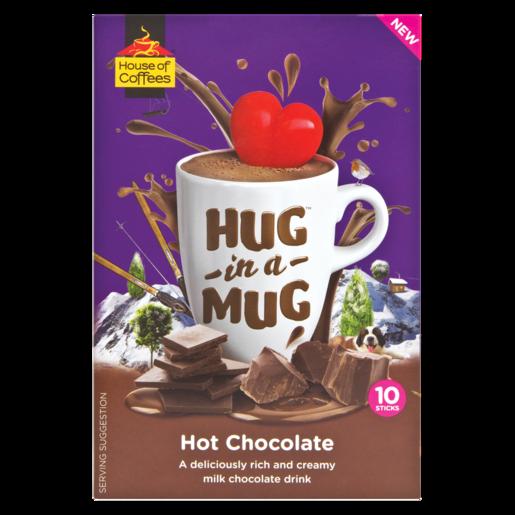 Hug In A Mug Hot Chocolate Sticks 10 x 25g