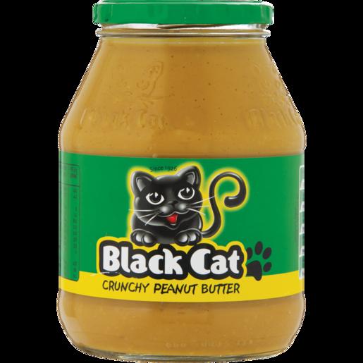 Black Cat Crunchy Peanut Butter 800g