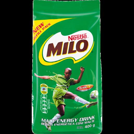 Nestle Milo Malt Chocolate Flavoured Beverage 400g