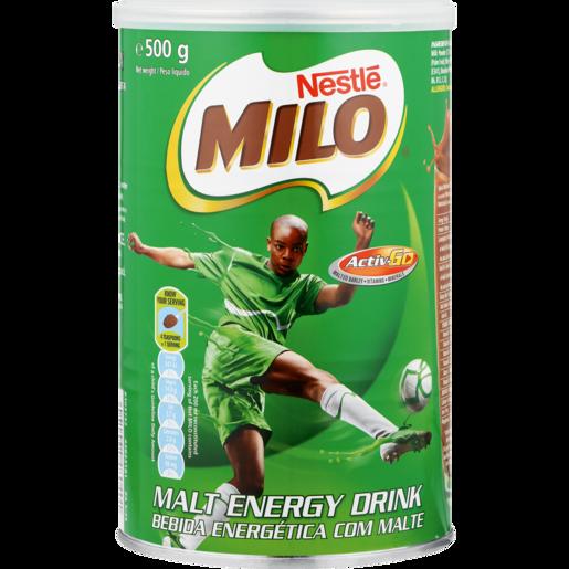 Nestle Milo Original Instant Malt Energy Drink 500g