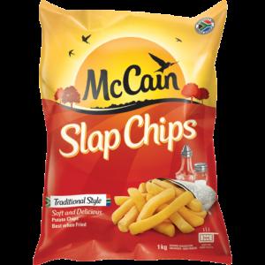 McCain Frozen Potato Slap Chips 1kg