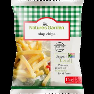 Natures Garden Frozen Slap Potato Chips 1kg