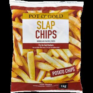 Pot O' Gold Frozen Slap Chips 1kg