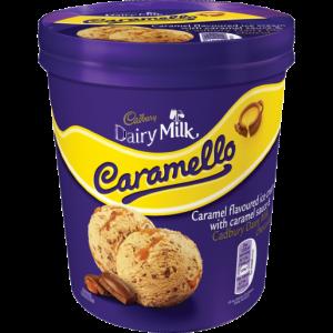 Cadbury Dairy Milk Caramello Ice Cream Tub 480ml