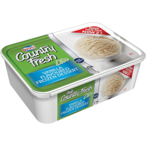 Dairymaid Country Fresh Lite Vanilla Ice Cream 2L