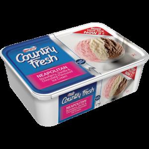 Dairymaid Country Fresh Neapolitan Ice Cream 2L
