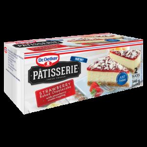 Dr. Oetker Patisserie Frozen Strawberry Cheesecake 340g