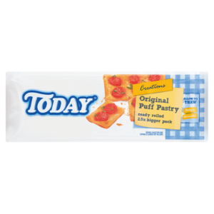 Today Frozen Original Puff Pastry 1Kg