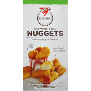 Fry's Frozen Rice, Protein & Chia Nuggets 240g