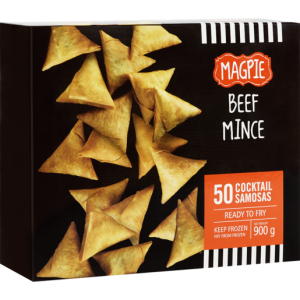 Magpie Cocktail Beef Samoosa 50 Pack