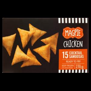 Magpie Frozen Chicken Cocktail Samoosas 270g