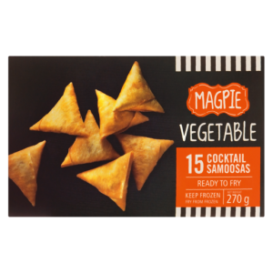 Magpie Frozen Vegetable Cocktail Samoosas 270g