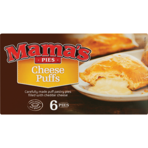 Mama's Pies Frozen Cheese Puffs 6 Pack