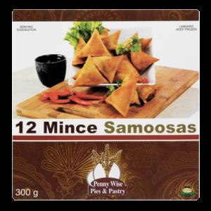 Penny Wise Frozen Mince Samoosas 12 Pack
