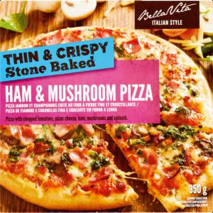 Bella Vita Frozen Deep Crust Hawaiian Pizza 390g