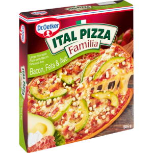 Dr. Oetker Frozen Ital Bacon & Spring Onion Pizza 514g