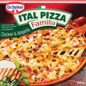 Dr. Oetker Frozen Ital Bacon, Feta & Avo Pizza 504g