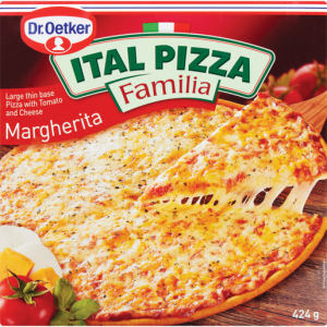 Dr. Oetker Frozen Ital Classic Margherita Pizza 4 Pack