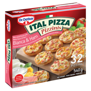 Dr. Oetker Ital Frozen Snack Slices Barbecue Chicken Pizza 420g