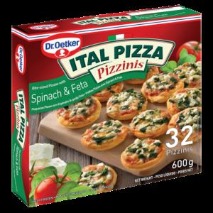 Dr. Oetker Ital Pizza Frozen Bianca & Ham Pizzinis 540g