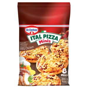 Dr. Oetker Ital Pizza Frozen Spinach & Feta Pizzinis 600g