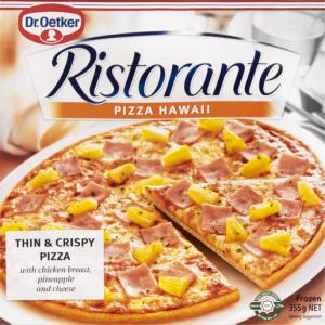 Dr. Oetker Ital Pizza Minis Frozen Hawaiian Pizza 8 Pack
