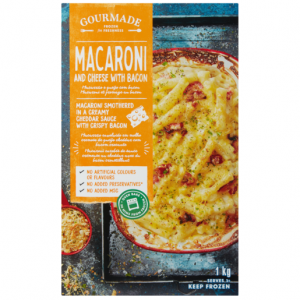 Gourmade Frozen Macaroni & Cheese With Bacon Ready Meal 1kg