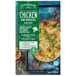 Gourmade Frozen Chicken & Broccoli Ready Meal 1kg