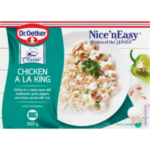 Dr Oetker Nice 'N Easy Frozen Chicken A La King Ready Meal 350g