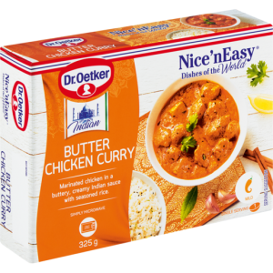 Dr. Oetker Nice 'N Easy Frozen Butter Chicken Curry Ready Meal 325g