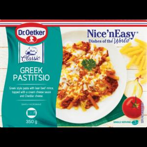 Dr. Oetker Nice 'N Easy Frozen Greek Pastitsio Ready Meal 350g