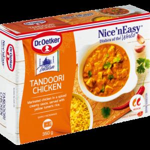 Dr. Oetker Nice 'N Easy Frozen Tandoori Chicken Ready Meal 350g