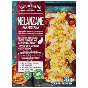Gourmade Frozen Melanzane Parmigiana Ready Meal 375g
