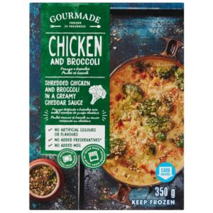 Gourmade Frozen Chicken & Broccoli Ready Meal 350g