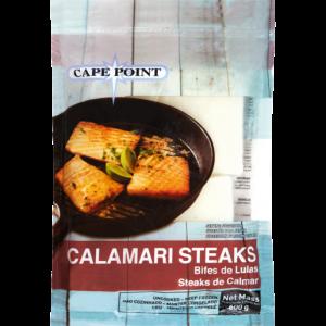 Cape Point Frozen Calamari Steaks 600g