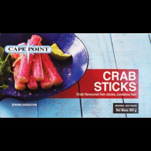 Cape Point Frozen Crab Sticks 500g